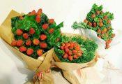 Tặng hoa Valentine: Bạn gái ăn sống, trộn salad, luộc chấm mắm